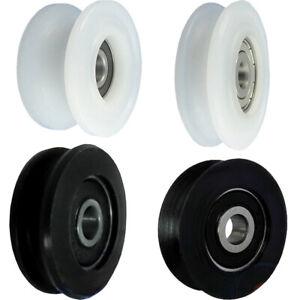 Profil- Kunststoffrolle mit Kugellager für Seil Polyamid Ø29-Ø60 Rollen
