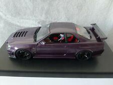Nissan Skyline R34 GTR Midnight Purple black rims Otto Kyosho 1:18 RARE limited