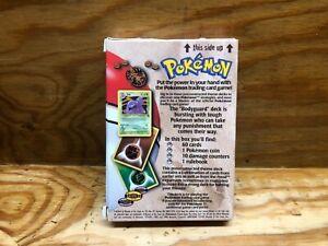 FOSSIL Pokemon Cards Original BODYGUARD THEME DECK