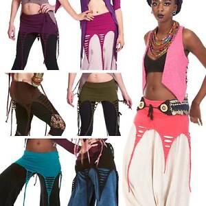 Psy Trance Skirt, Pixie Tendrils Add-On Miniskirt, Festival Goa Doof Clothing