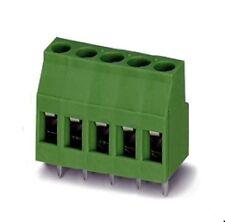 Printklemme 5-polig 1-reihig, gerade, RM5mm, Printmontage, Sauro  MSQ05001 2St.