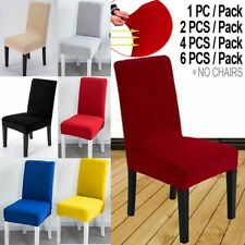 Modern Stretch Fit Chair Cover Slipcovers Dining Room Seat Wedding Banquet Party