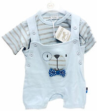 Striped 100% Cotton Outfits & Sets (0-24 Months) for Boys