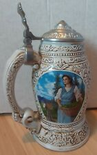 "Anheuser-Busch Collector's Club, 1998 ""Old World Heritage"" Stein, Cb7 [No Box]"