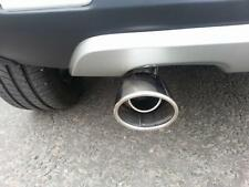 OVAL Chrome Exhaust Tailpipe 40-52mm S/Steel fits MITSUBISHI COLT -13 (CT1A)