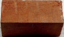 """Sapele Curly 1 pc Bottle Stop 1 1/2"""" x 2 1/2""""Blanks"""