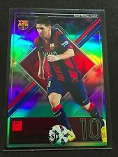 2015 Panini Football League PFL 11 Lionel Messi Star refractor card Barcelona