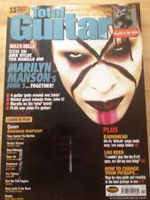 Total Guitar - January 2002 - Queen Bohemian Rhapsody / Marilyn Manson