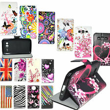 Stand Flip PU Leather Wallet Cover Case For Samsung S8 S7 S6 Edge Plus J 3 5 7