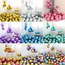 20/30PCS 12'' Metallic Latex Metal Chrome Balloons Wedding Birthday Shower Party