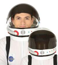 Mens damas astronauta espacio Casco con visera TV Película Fancy Dress Costume Sombrero