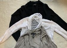Style & Co, International Concepts Long Cardigan Women Size Medium, Lot Of 3
