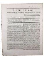 Louis 16 arrestation à Varennes 1791 Dampierre Cherbourg Bretagne Royalisme