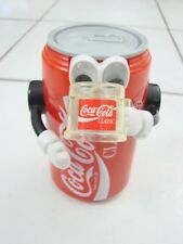 Vintage Coca-Cola Soda Coke Can Robot Mechanical Action Bank