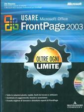 USARE MICROSOFT OFFICE FRONTPAGE 2003  JIM BUYENS MONDADORI 2004