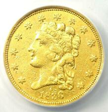 1836 Classic Gold Quarter Eagle $2.50 - Certified ANACS AU50 Detail - Rare Coin!