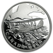2016 Canada 1 oz Silver $20 Canadian Homefront: Air Training - SKU #94236