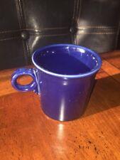 Collectible Contemporary Fiestaware Fiesta tea cup coffee mug dark navy blue EUC