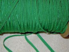 Vintage GREEN Soutache Cord -  Soutache Rayon Cord Trim 5 yards