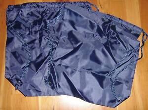 School / Adult back packs/pump/swimming bags Blue. New.