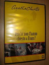 DVD PERCHE' NON L'HANNO CHIESTO A EVANS? AGATHA CHRISTIE MALAVASI