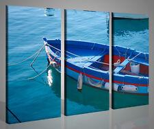 Quadro Gozzo amalfitano stampa su tela immagine foto barca arredamento pescheria