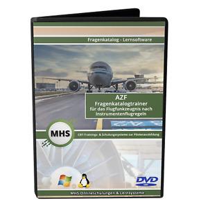 Fragenkatalogtrainer AZF - Flugfunkzeugnis - Windows - DVD