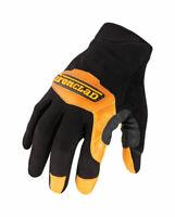 Ironclad  Black  Universal  Medium  Leather  Cowboy  Gloves