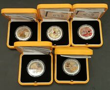 OMAN CRAFTS INDUSTRIES PROOF SET OF FIVE COINS 2016 IN ORIGINAL BOX OF ISSUE