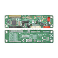 "MT6820-MD V2.0 Universal Driver Board For 10-42"" LCD Displayer Module 108*28mm"