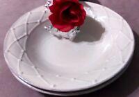 Casafina Meridian Stoneware Bowls, Pasta Bowls, Soup Bowls, Portuguese Stoneware