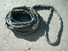 DYNEEMA ROPE 22mm TOW ROPE WINCH ROPE 4X4 RECOVERY 16 METRES c/w SPLICE (M,J2)