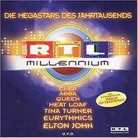 RTL Millennium-Die Megastars des Jahrtausends (1999) Queen, George Mich.. [2 CD]