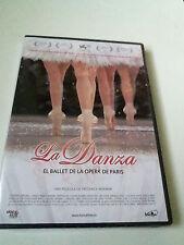 """DVD """"LA DANZA EL BALLET DE LA OPERA DE PARIS"""" PRECINTADO SEALED FEDERICK WISEMAN"""