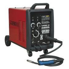 Sealey 180Amp Professional/Industrial MIG Welder + Binzel Euro Torch Supermig180