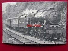 PHOTO  LMS ROYAL SCOT LOCO NO 46123 ROYAL IRISH FUSILIER - HERTFORDSHIRE - MERSE