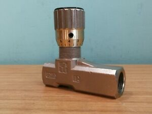 """1/2"""" BSP Pressure Compensated Hydraulic One Way Flow Control Valve FT1251/5-12"""