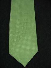 Boys Van Heusen Green Zipper Necktie Tie 13 x 2.75 Inch