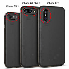 For iPhone X 8 7 Plus Case Luxury Shockproof Slim Hard Impact Protective Cover t