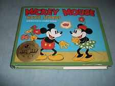 1988 Hard D/J MICKEY MOUSE MOVIE STORIES Intro By Maurice Sendak; 98 PIX in book