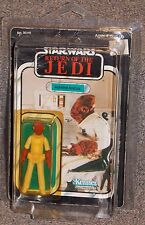 Vintage 1983 Star Wars ROTJ Admiral Ackbar Carded Figure With Star Case