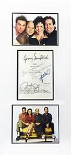 "SEINFELD 4 CAST SIGNED SCRIPT ""THE EX-GIRLFRIEND"" FULL SCRIPT ""ON SALE!"""