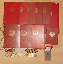 Antiguo DDR Clips de orden de la NVA con Documentos s11