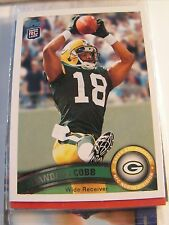 Randall Cobb 2011 Topps Rookie Card Green Bay Packers NFL FOOTBALL #149