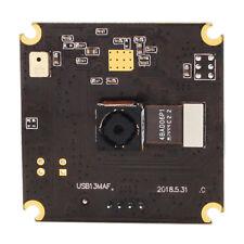 13MP Mini 38*38mm Autofocus USB Webcam Module with 75 degree no distortion lens