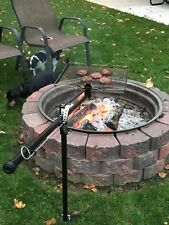 BUZZYGRILL fully adjustable  camp fire grill cooking system made in America