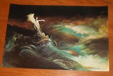Frank Frazetta Sea Witch Vintage 1966 Original Poster Print 22x15