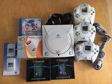 Console Sega Dreamcast,3 Manettes,2 Vmu...