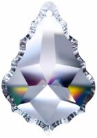 5 Clear French Chandelier Crystals Prism 63mm Pendant Asfour Lead Crystal #911