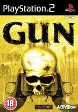 Gun PS2 playstation 2 jeux jeu tir western shooter games spelletjes 2881